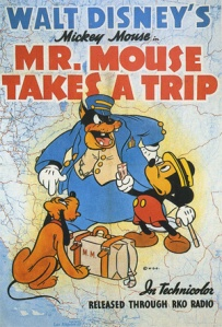 Mr Mouse takes a trip